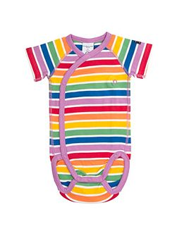 Babies Rainbow Stripe Bodysuit