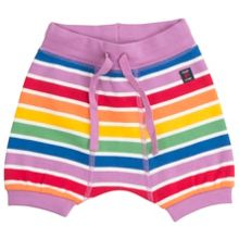 Polarn O. Pyret Babies Rainbow Striped Shorts