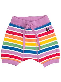 Babies Rainbow Striped Shorts