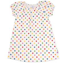 Polarn O. Pyret Girls Polka Dot Dress