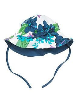 Baby Girls Floral Hat