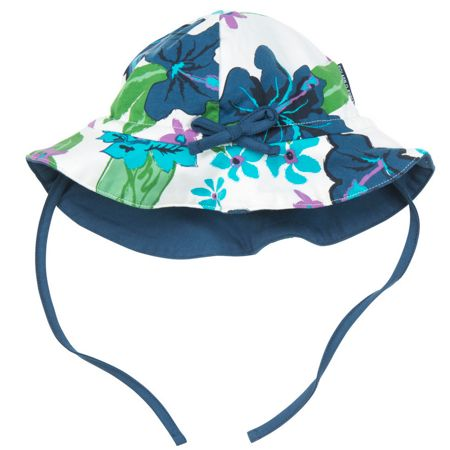 Polarn O. Pyret Baby Girls Floral Hat
