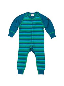 Babies Striped Thermal all-in-one