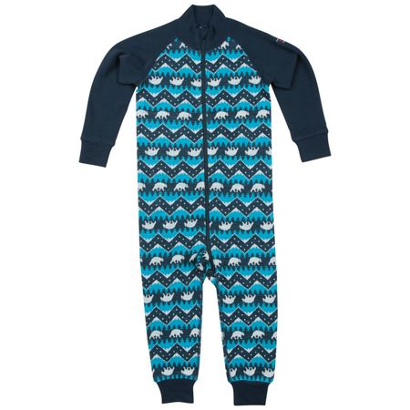 Polarn O. Pyret Babies Thermal Wool all-in-one