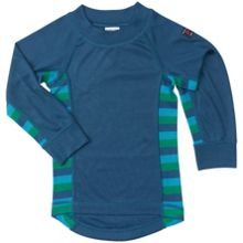 Polarn O. Pyret Babies Striped Thermal Top