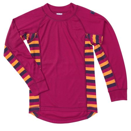 Polarn O. Pyret Kids Striped Thermal Top