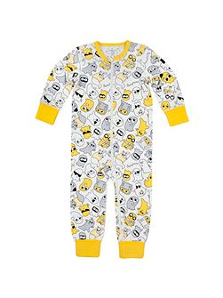 Kids Friendly Ghost Onesie Pyjamas