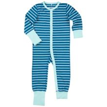 Polarn O. Pyret Babies Striped Sleepsuit
