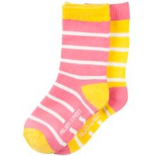 Polarn O. Pyret Babies 2 Pack Striped Socks