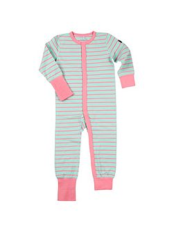 Kids Striped Onesie Pyjamas