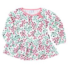 Polarn O. Pyret Baby Girls Floral Top