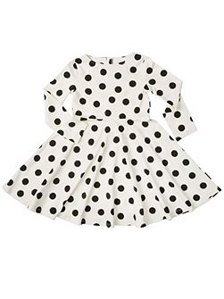Baby Girls Spot Print Dress