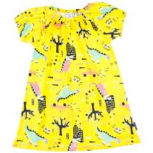 Polarn O. Pyret Girls Dinosaur Town Dress