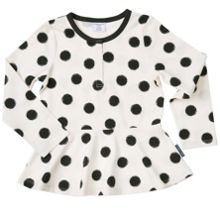 Polarn O. Pyret Girls Abstract Dot Print Top