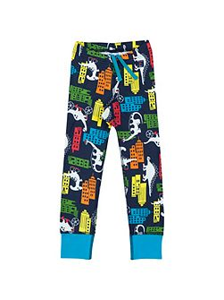 Kids Dinosaur Town Leggings