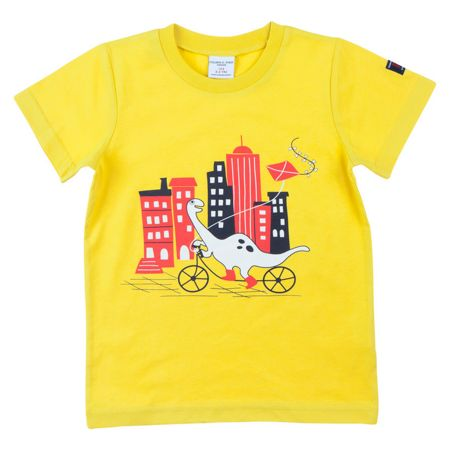 Polarn O. Pyret Kids Fun Dinosaur T-Shirt