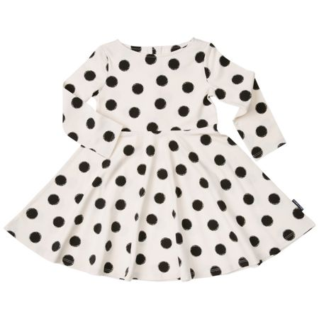 Polarn O. Pyret Girls Spot Print Dress