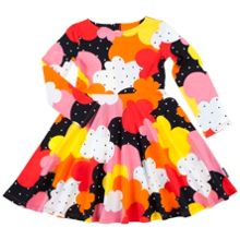 Polarn O. Pyret Girls Retro Print Dress
