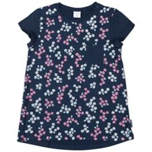 Polarn O. Pyret Girls Floral Print Top