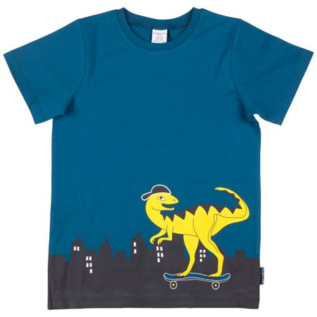 Polarn O. Pyret Kids Skateboard Dinosaur Top