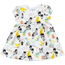 Polarn O. Pyret Baby Girls Dinosaur Dress