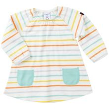 Polarn O. Pyret Baby Girls Striped Dress