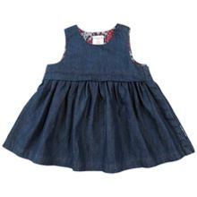 Polarn O. Pyret Babies Soft Denim Dress