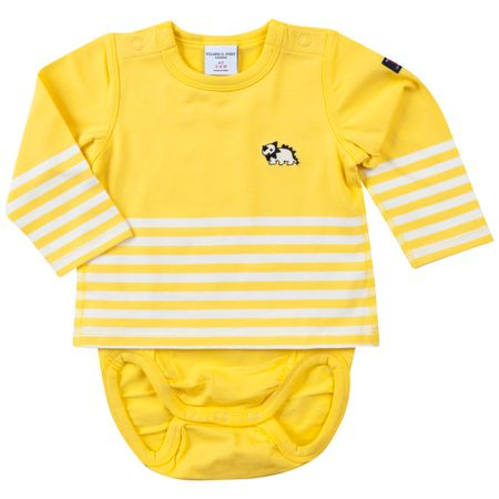 Polarn O. Pyret Babies 2-in-1 Top and bodysuit