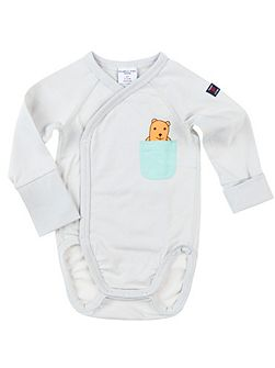 Babies Teddy Pocket Bodysuit