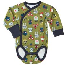 Polarn O. Pyret Babies Fun Animal Bodysuit