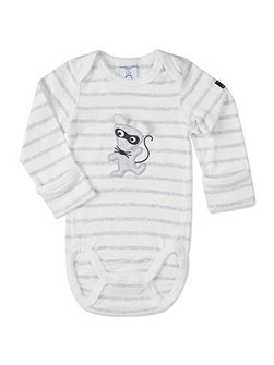 Babies Mouse Appliqué Bodysuit