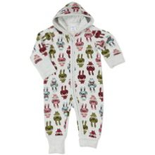 Polarn O. Pyret Babies Rabbit Overall with Hood