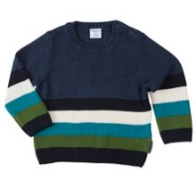 Polarn O. Pyret Babies Multi Striped Jumper