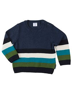 Babies Multi Striped Jumper