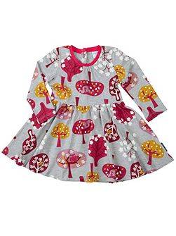 Baby Girls Woodland Animal Dress