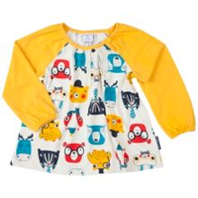 Polarn O. Pyret Baby Girls Woodland Animal Tunic Top