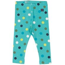 Polarn O. Pyret Baby Girls Polka Dot Leggings