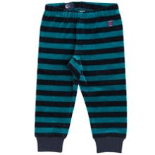 Polarn O. Pyret Babies Striped Velour Trousers