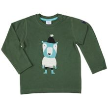 Polarn O. Pyret Babies Woodland Animal Motif Top