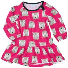 Polarn O. Pyret Baby Girls Woodland Animal Dress