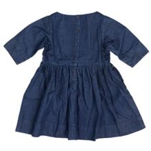 Polarn O. Pyret Babies Girls Denim Dress