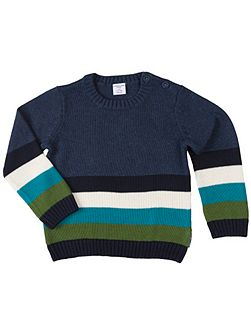 Kids Multi Striped Jumper