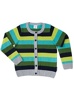 Kids Bold Stripe Cardigan