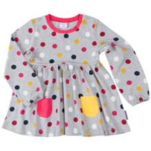 Polarn O. Pyret Girls Polka Dot Top
