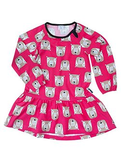 Girls Woodland Animal Dress