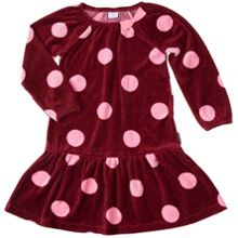 Polarn O. Pyret Girls Velour dress