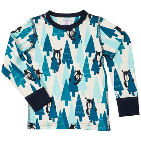 Polarn O. Pyret Kids Bear Print Top