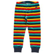 Polarn O. Pyret Kids Striped Velour Trousers