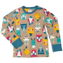Polarn O. Pyret Kids Woodland Animal Top