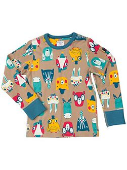 Kids Woodland Animal Top